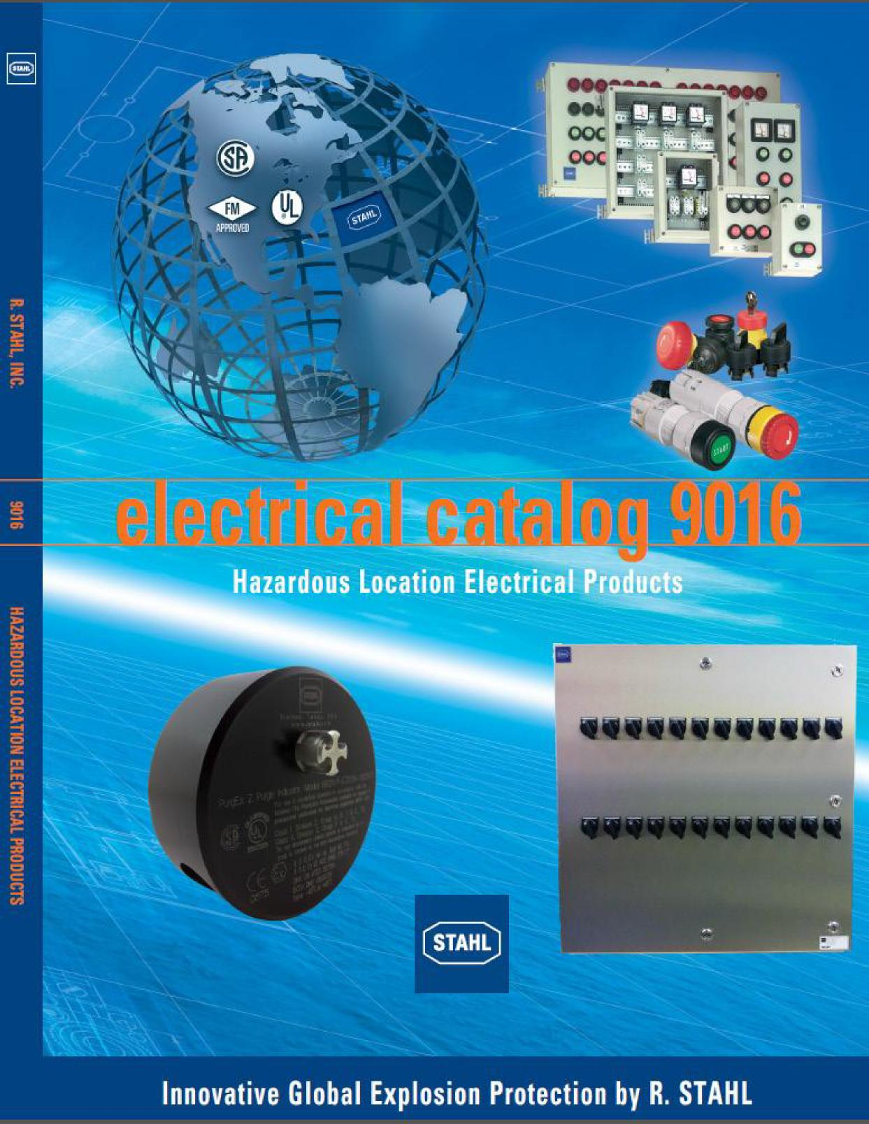 R Stahl Electrical Catalog 9016