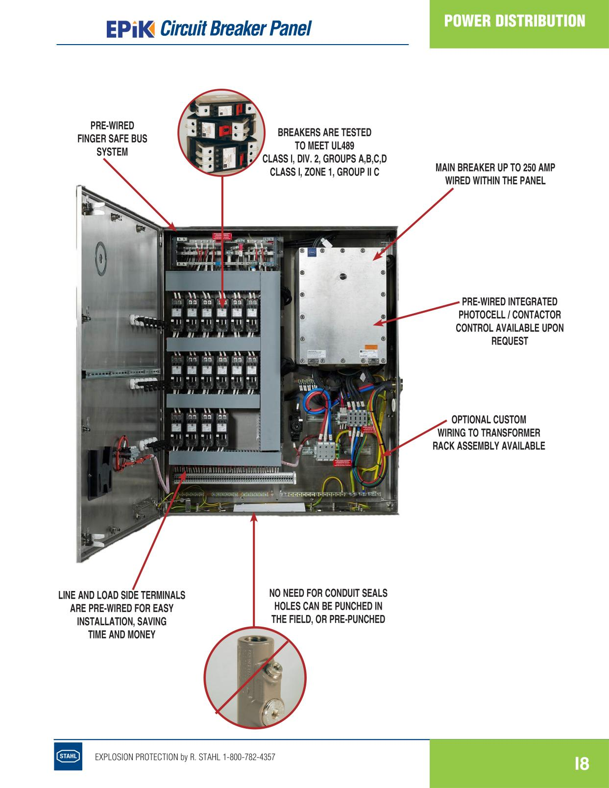 Distribution - R Stahl Electrical Catalog 9016 Page I8